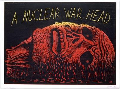 a nuclear war head by robert arneson