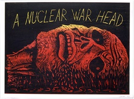a nuclear war head by robert arneson
