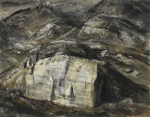 cwm tryfan by john piper