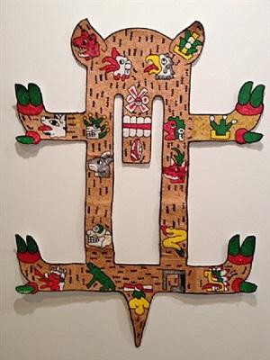 tudela en traje de chinelo (tudela in a chinelo suit) <br>03: venado calendario / deer calendar by mariana castillo deball