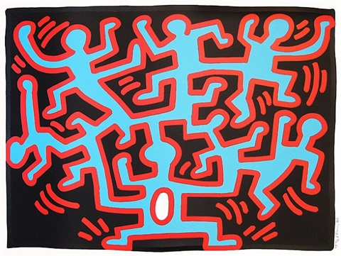 growing #2 by keith haring