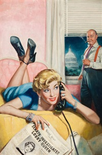 the insiders, paperback cover by verne tossey