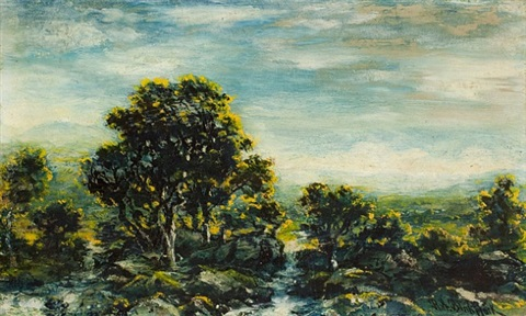 golden valley by ralph albert blakelock