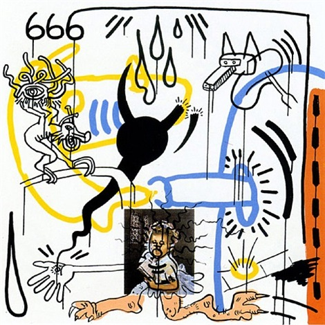apocalypse viii by keith haring