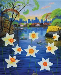 dreamers over daffodils by l.c. armstrong