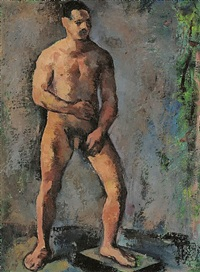 stehender männerakt by joseph floch
