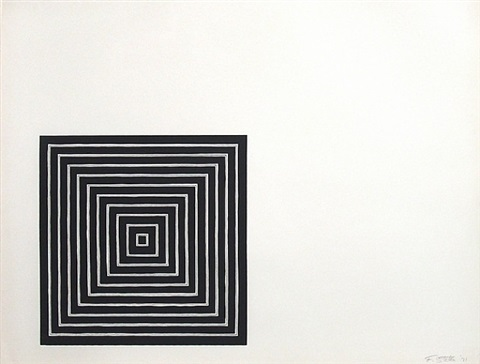 angriff attack from conspiracy the artist as witness by frank stella