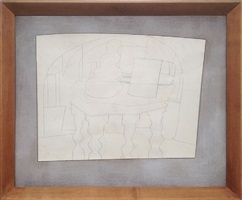still life, malcontenta (june 1962) by ben nicholson