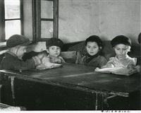 cheder students by roman vishniac