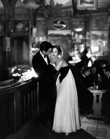 suzy parker and gardner mckay dress by balmain cafe des beaux arts paris august by richard avedon