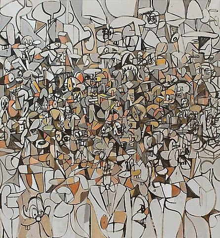 population of forms by george condo