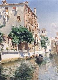 <i>st. apostoli canal, venice</i> by rubens santoro
