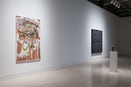 catch as catch can, installation view, works by michaela eichwald, tom burr