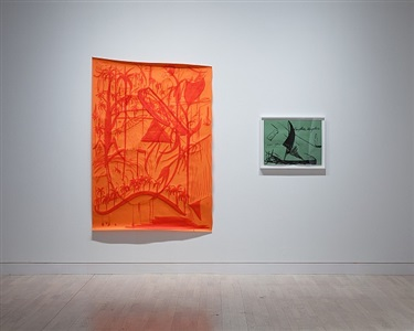 catch as catch can, installation view, works by viola yesiltac