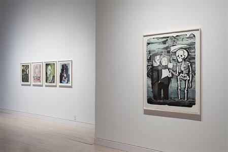 catch as catch can, installation view, works by nicole eisenman