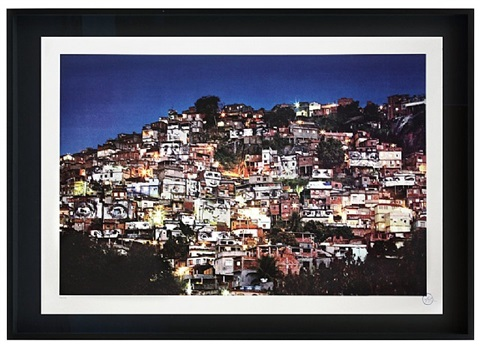 favela morro da providencia - night view by jr