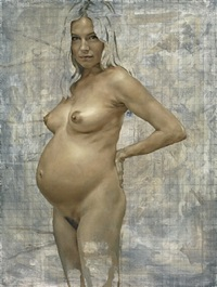 sienna pregnant by jonathan yeo