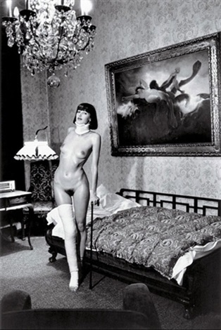 jenny kapitan pension dorian berlin by helmut newton