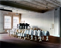 warehouse: epstein furniture warehouse (lamps) by mitch epstein