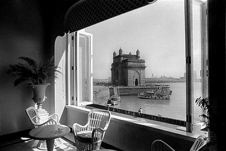 mr tata's taj mahal hotel and gateway of india, bombay by sooni taraporevala