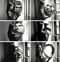 dr. heisenberg's mirror of uncertainty by duane michals