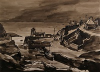 amlwch by sir kyffin williams