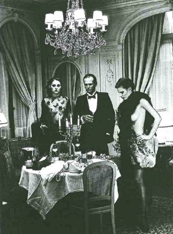 after dinner paris by helmut newton