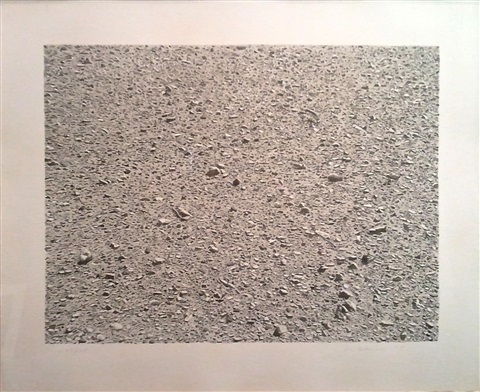 untitled desert by vija celmins