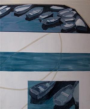 off route 1, canoe: 50 by ann sklarin