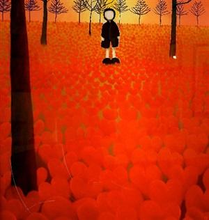 a field of dreams by mackenzie thorpe