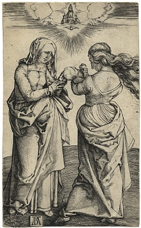 the virgin and child with saint anne by albrecht dürer