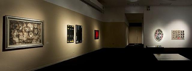 all'origine della forma - installation view by mario ballocco