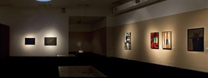all'origine della forma - installation view by mario ballocco