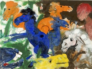 dancing horses by robert beauchamp