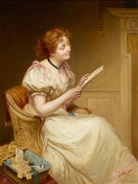 the letter by sir william quiller orchardson