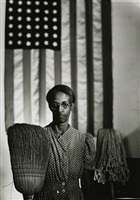 american gothic, washington, d.c. by gordon parks