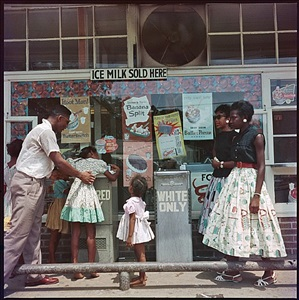 at segregated drinking fountain mobile alabama by gordon parks
