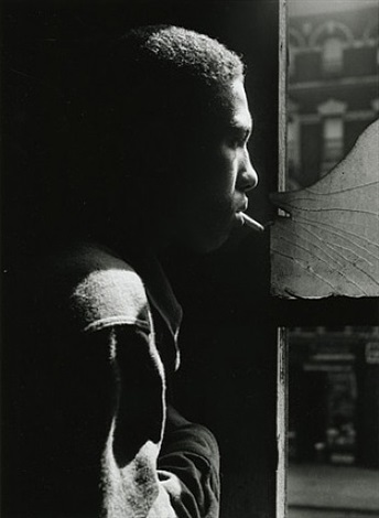 red jackson, harlem, new york by gordon parks