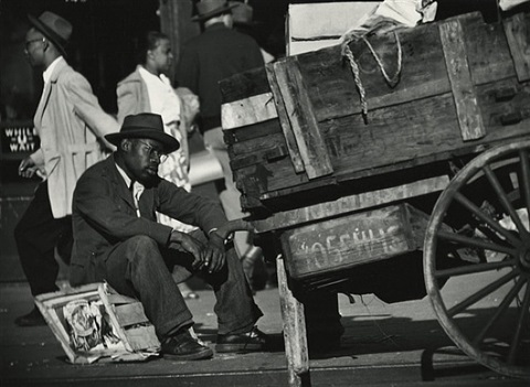 street scene, harlem, new york by gordon parks