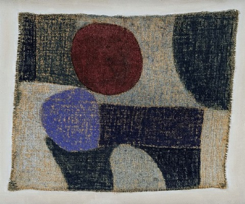 noch heiss, und fremd einher / still hot, and appearing strange by paul klee