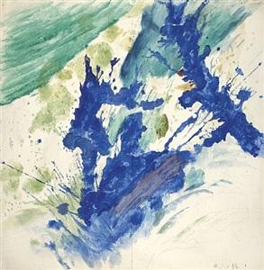 blauer baum by max weiler
