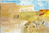 abstract landscape 7 by ram kumar