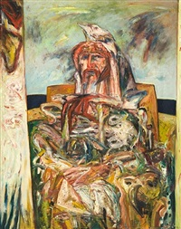 self portrait by john bellany