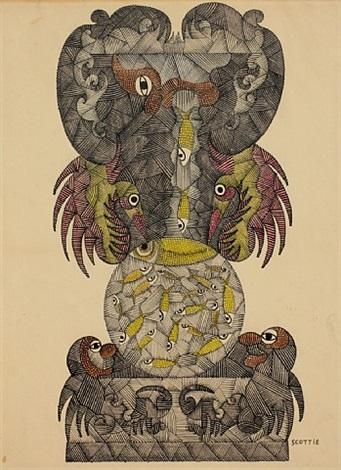untitled by scottie wilson