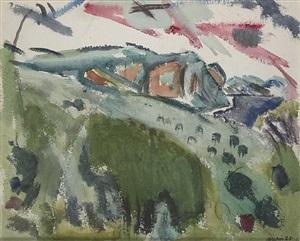 region of haverstraw on the hudson, ny by john marin