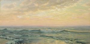 breaking wave by alexander harrison