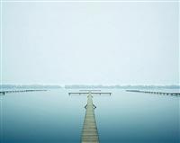thin dock, west lake, hangzhou, china by david burdeny