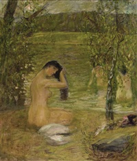 the bathers by vladimir litnev