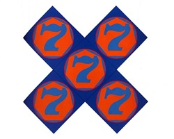 the x-7 by robert indiana