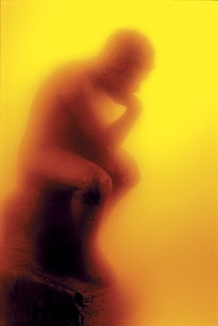 "immersions, ""the thinker"" by andres serrano"